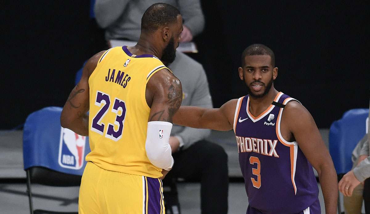 NBA Playoff Preview – Phoenix Suns vs. Los Angeles Lakers: Two geniuses meet …