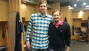 SPOX-Sports-Chef Florian Regelmann traf Dirk Nowitzki in Dallas