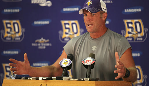 Brett Favre gewann 1996 mit den Green Bay Packers den Super Bowl