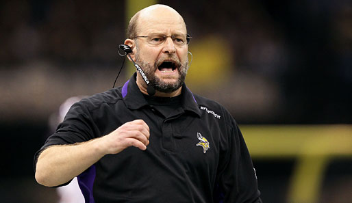 Brad Childress war seit 2006 Trainer der Minnesota Vikings