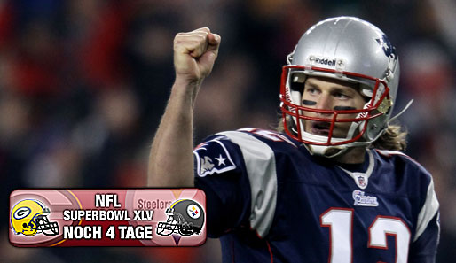 We proudly present the Offensive Player of the Year: Tom Brady von den New England Patriots