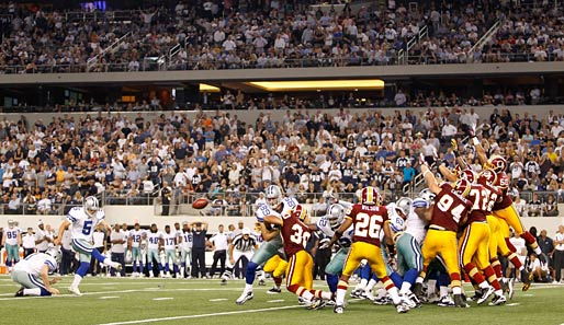 Cowboys-Kicker Dan Bailey war mit sechs Field Goals der Mann des Monday Night Games