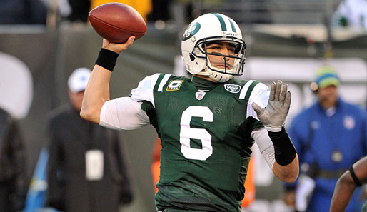 Mark Sanchez warf in seiner Karriere bislang 55 Touchdown-Pässe und 51 Interceptions