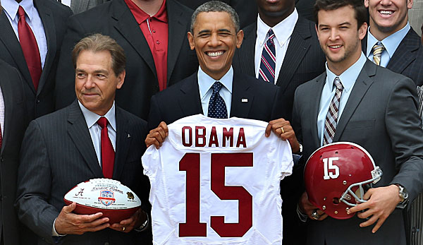Barack Obama hat sich in die Namens-Diskussion um die Washington Redskins eingeschaltet