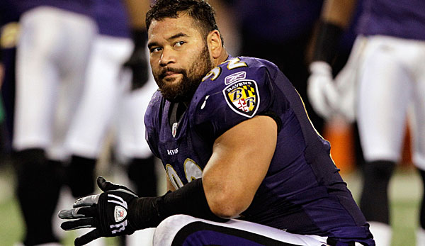 Haloti Ngata ist der Nose Tackle der Baltimore Ravens