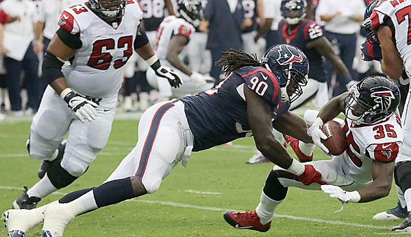 Jadeveon Clowney war der Top-Pick der Houston Texans im Draft