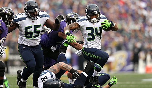 Thomas Rawls gelangen in der Vorsaison 5,6 Yards pro Run und vier Rushing-Touchdowns