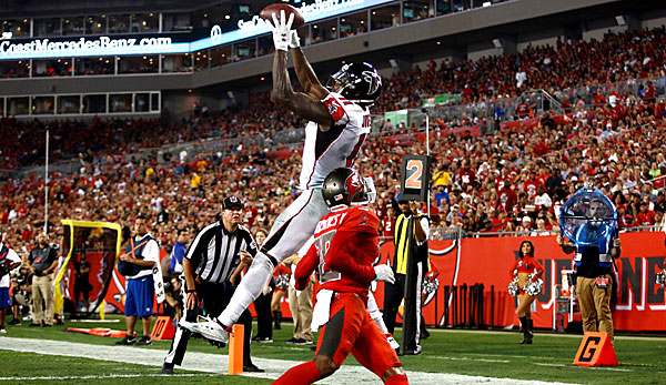 Die Atlanta Falcons um Julio Jones zerlegten die Bucs-Defense nach Belieben