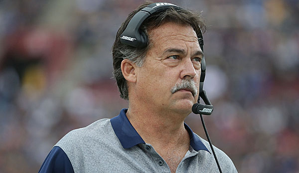 Jeff Fisher war seit 2012 der Head Coach der Rams