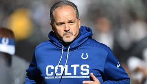 Chuck Pagano übernahm die Indianapolis Colts 2012