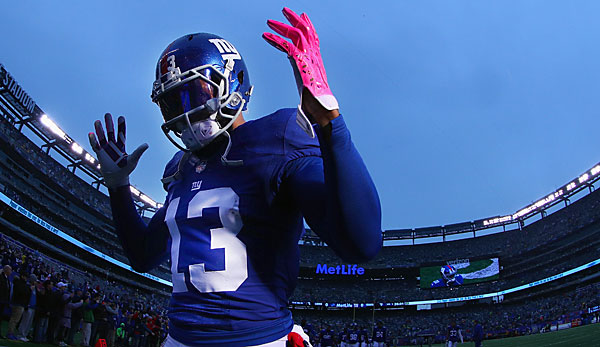 Odell Beckham verzeichnete in der Regular Season 1.367 Receiving-Yards und zehn Touchdowns