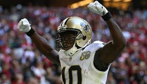 Brandin Cooks verzeichnete in der Vorsaison 1.173 Receiving-Yards