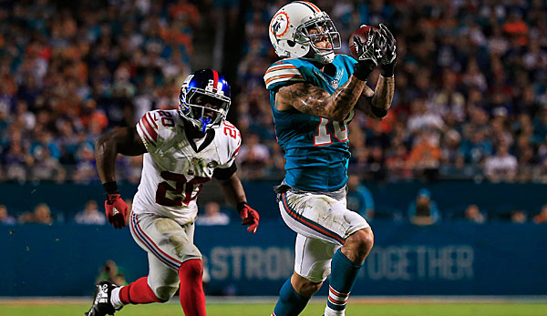 Kenny Stills gelangen in der Vorsaison 726 Receiving-Yards sowie neun Touchdowns