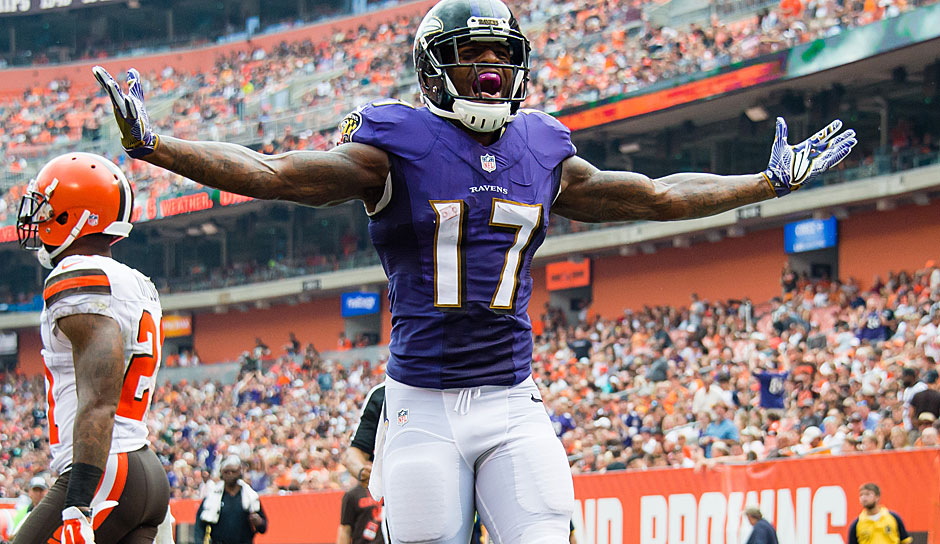 Mike Wallace, WR, Baltimore Ravens: Die Ravens gingen beim Draft heftig Richtung Defense - offensive Skill-Player wurden überhaupt nicht geholt. Wallace geht somit nach seiner 1.000-Yard-Saison als sicherer Starter in die kommende Spielzeit