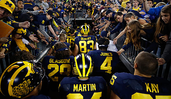 Die Michigan Wolverines sind eines der traditionsreicheren Teams im College Football