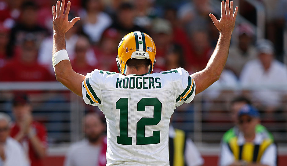 7.: Aaron Rodgers, QB, Green Bay Packers