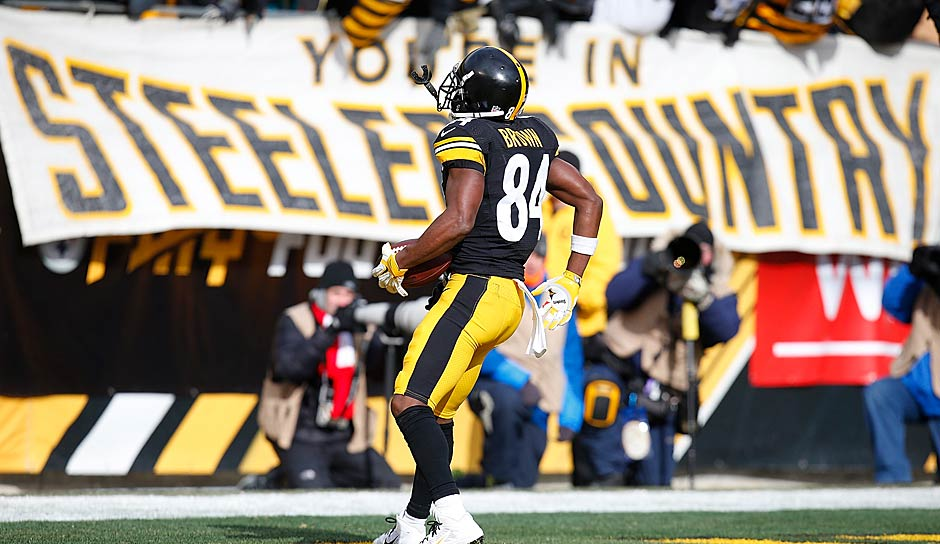 Die Top 5s - WIDE RECEIVER: 1. Antonio Brown (Steelers), 2. Julio Jones (Falcons), 3. Odell Beckham (Giants), 4. A.J. Green (Bengals), 5. Mike Evans (Buccaneers)