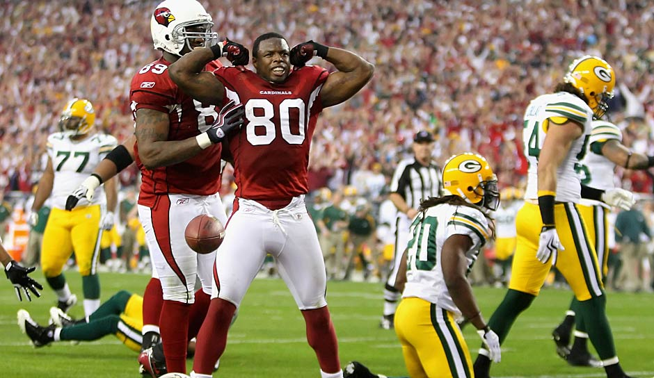 Rang 8 - 96 Punkte: Arizona Cardinals vs. Green Bay Packers 51:45 OT (2010 - meiste Punkte in einem Playoff-Spiel aller Zeiten)