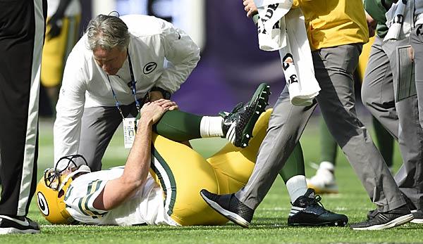 Packers-QB Rodgers droht Saison-Aus