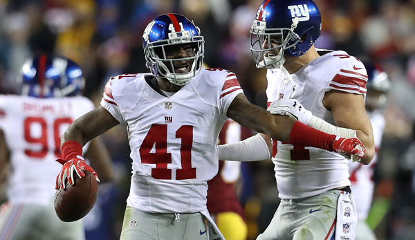 Dominique Rodgers-Cromartie wurde von den Giants suspendiert