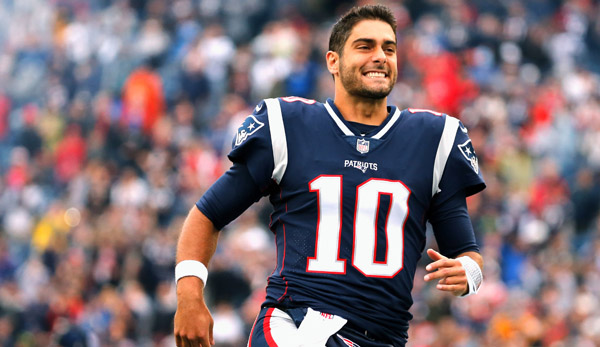 49ers holen Jimmy Garoppolo von den Patriots TOPNEWS