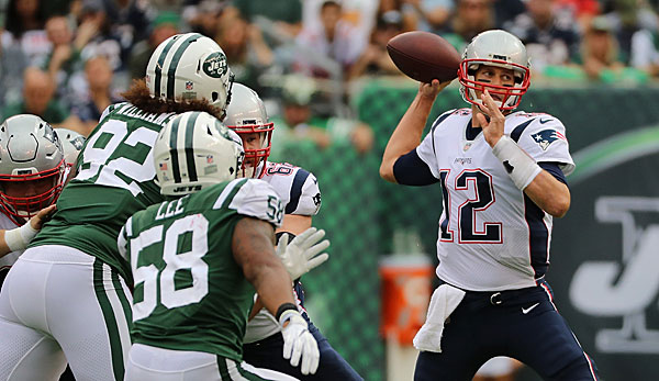 Tom Brady plays for the New England Patriots