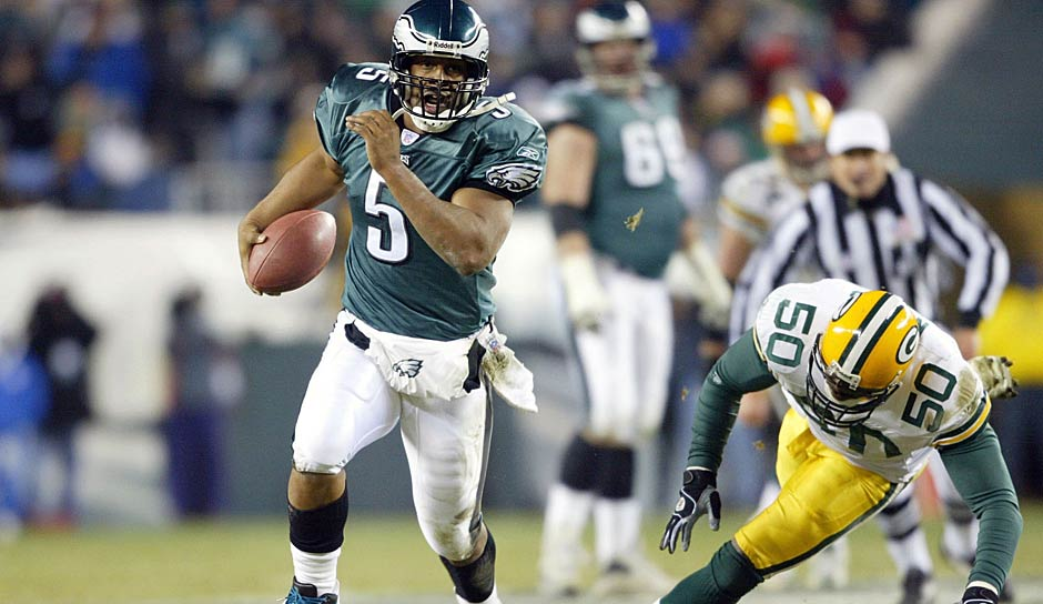 13.: Donovan McNabb (1999 - 2011): 29 Rushing-Touchdowns
