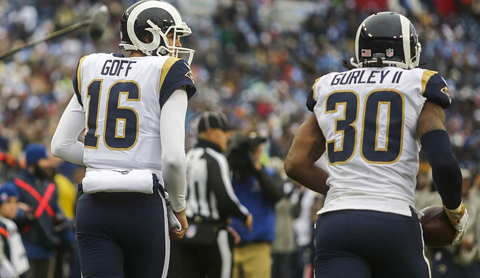 4. Los Angeles Rams: 2,51 Punkte pro Drive