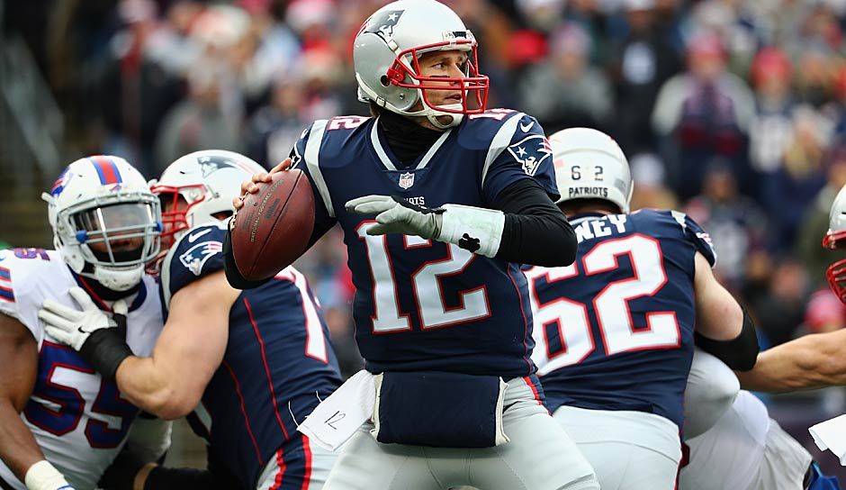 1. New England Patriots: 2,68 Punkte pro Drive