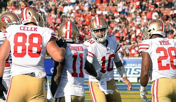 Die San Francisco 49ers spielen in der NFC West