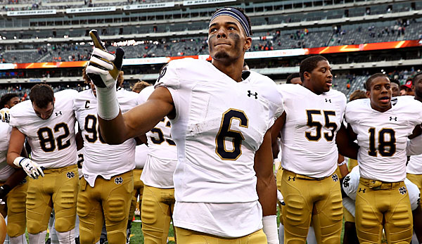 Equanimeous St. Brown hat für Notre Dame Fighting Irish in zwei Jahren 13 Touchdowns gefangen