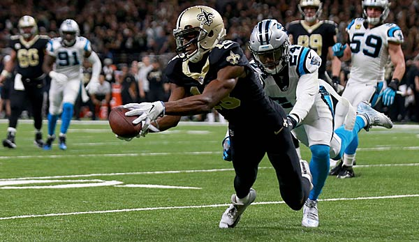 Die New Orleans Saints haben Carolina in der Wildcard-Runde bezwungen