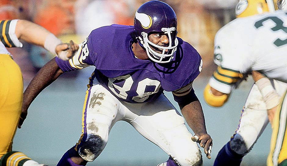 Alan Page, DT, 1967-81