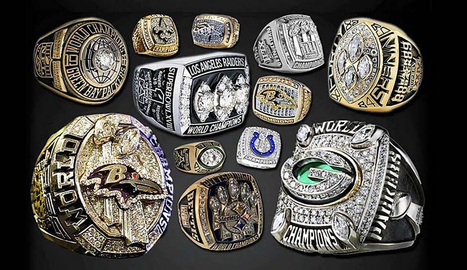 Alle Super Bowl Gewinner
