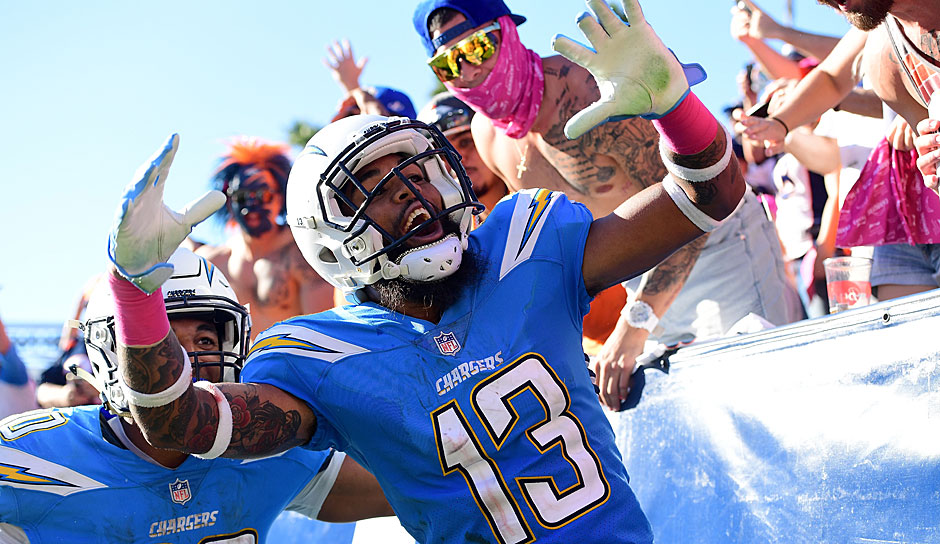 Platz 24 - Los Angeles Chargers: 20.628.918 Dollar.