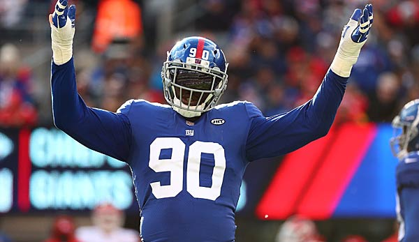 Jason Pierre Paul wechselt von den New York Giants zu den Tampa Bay Buccaneers.