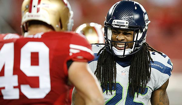 Richard Sherman wechselt von den Seattle Seahawks zu Division-Rivale San Francisco.