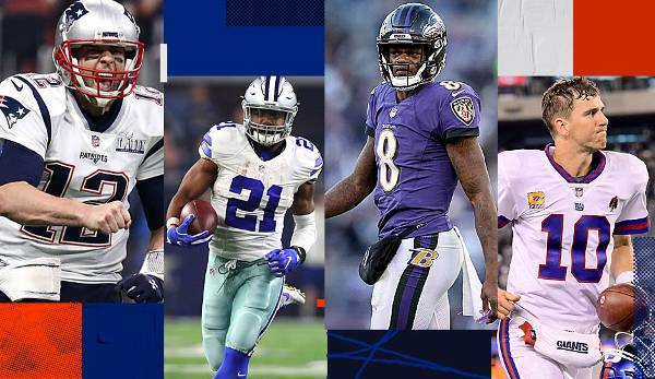 Podcast: Cowboys, Pats, Giants und Co. - neue Offenses und Offseason-Storys