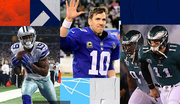 Starter-Serie: Giants, Eagles, Cowboys, Redskins - die NFC East im Überblick