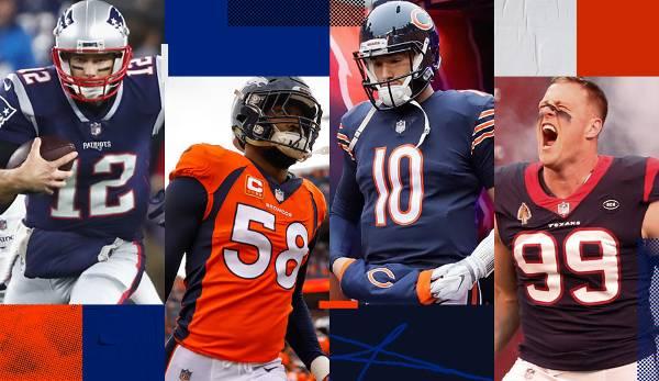 Diashow: NFL: Sieg-Prognosen für alle Teams 2019