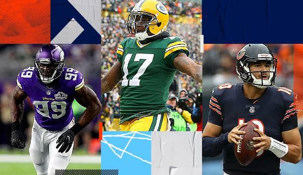Starter-Serie: Packers, Bears, Lions, Vikings - die NFC North