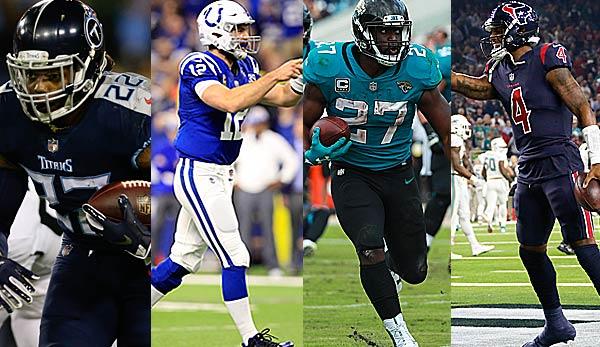 Podcast: Division Preview AFC South - Colts, Titans, Jaguars, Texans
