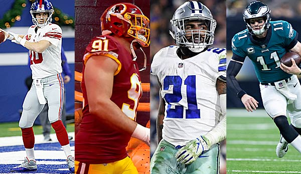 Podcast: Division-Preview NFC East - Giants, Eagles, Cowboys, Redskins