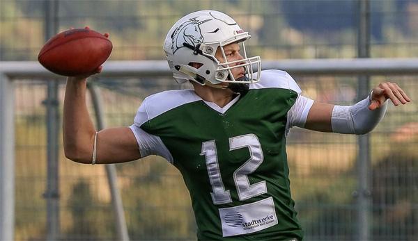 Eine Kanone als Arm - Alexander Honig: Dieser deutsche Quarterback will die USA erobern