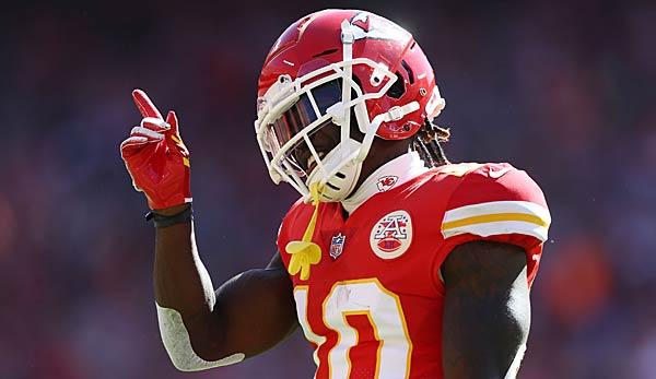 NFL-Urteil: Tyreek Hill von den Kansas City Chiefs wird nicht gesperrt