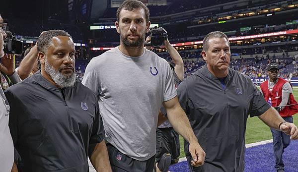 Unglaublicher Colts-Schock: Andrew Luck tritt zurück