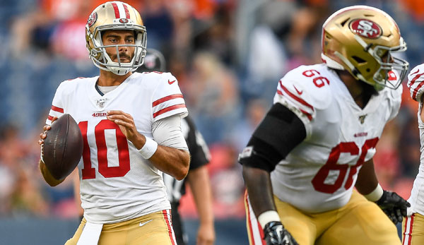 NFL Preseason Week 2: Jimmy Garoppolo enttäuscht bei Sieg der 49ers