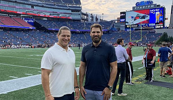 NFL: DAZN startet mit Markus Kuhn und Sebastian Vollmer in die 100. Saison