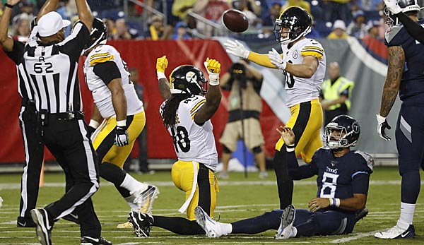 NFL, Preseason, Week 3, Pittsburgh Steelers, Tennessee Titans