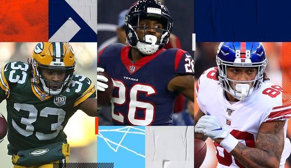 Diashow: NFL: Fantasy Football Steals 2019 - Miller, Garoppolo und Westbrook als Schnäppchen?
